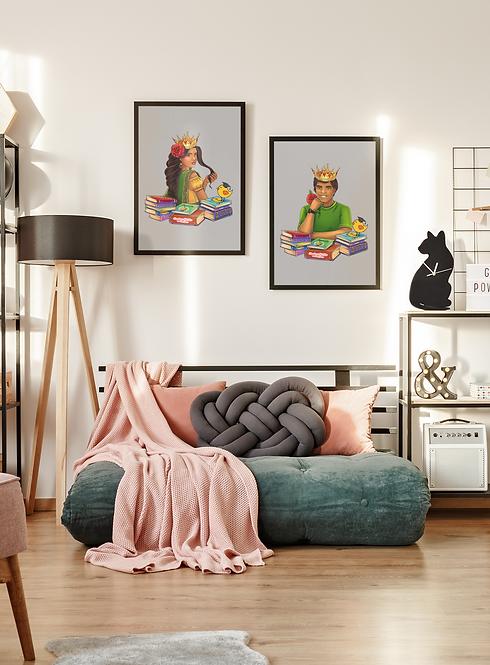 Sameera Framed Wall Art