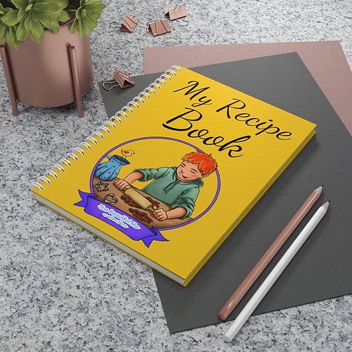 Alan Spiral Recipe Notebook