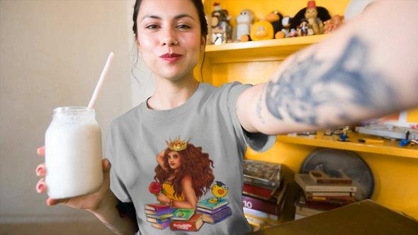 Talia Short-Sleeve Unisex T-Shirt