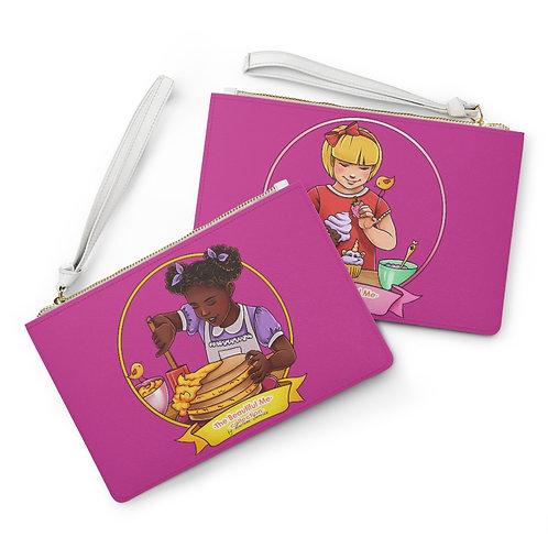 Mia & Astrid Clutch Bag - Hot Pink