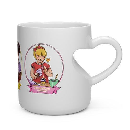 Astrid Heart Shaped Mug