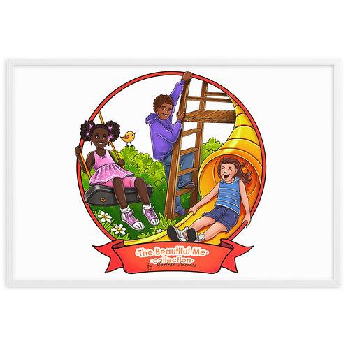 Playtime Nursery Framed Poster