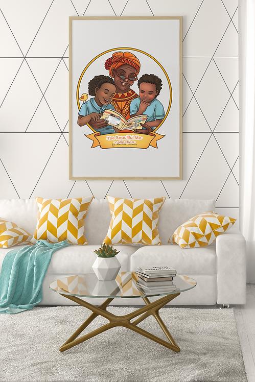 Grandma Myrtle Framed Poster