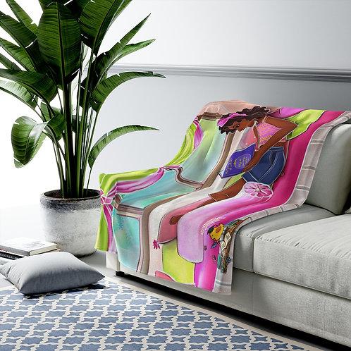 Makeeda Velveteen Plush Blanket
