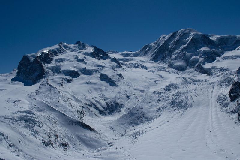 Le massif du Mont Rose