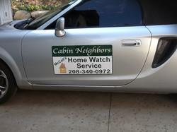 Cabin Neighbors car