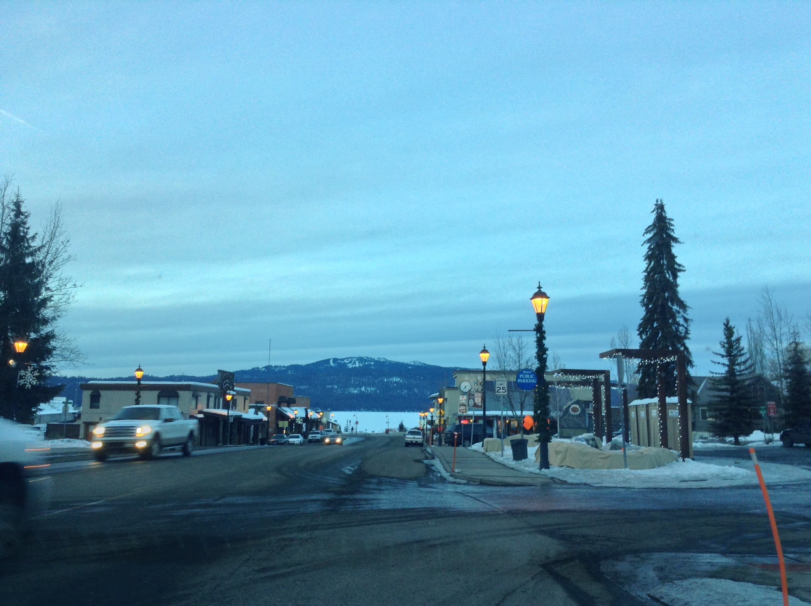 Third St. McCall, Idaho