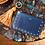 "Thumbnail: ""Tomorrow"" purse - Soft leather navy blue"