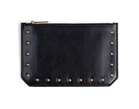 """Tomorrow"" purse - Soft leather black"