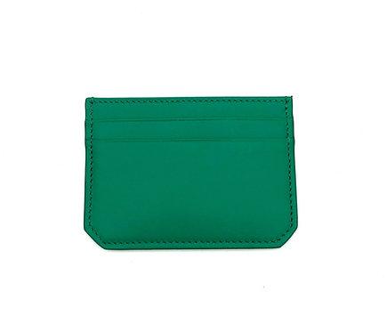 """Weekend"" mini card wallet - Soft leather mint"
