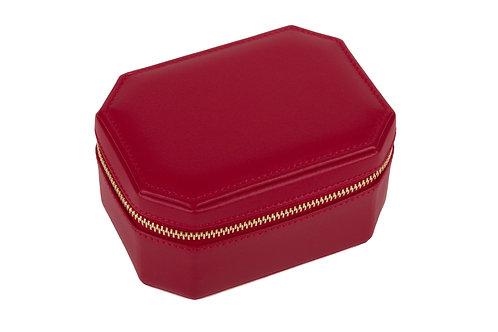 """Friday"" WOMAN jewel box - Soft leather lipstick red"