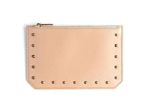 """Tomorrow"" purse - Soft leather nude"