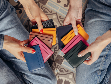 Did you know the mini card-holder is really trendy right now?