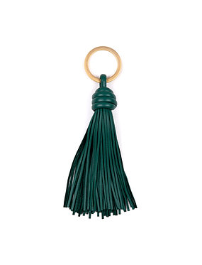 """DAY1"" keyring emerald green"