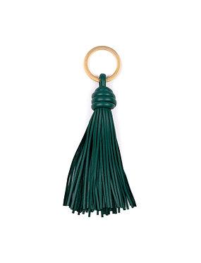 """DAY1"" keyring emerald green"