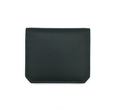 """Thursday"" card wallet - Soft leather pine green"