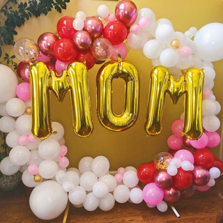 Mother's Day Balloon Decorations