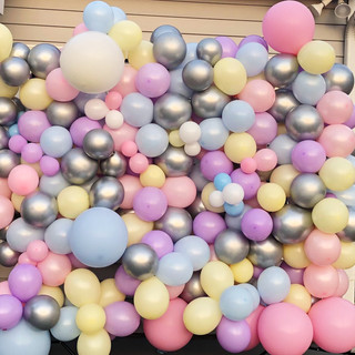 Balloon Wall for Easter