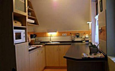 Tetőtéri apartman _ konyha