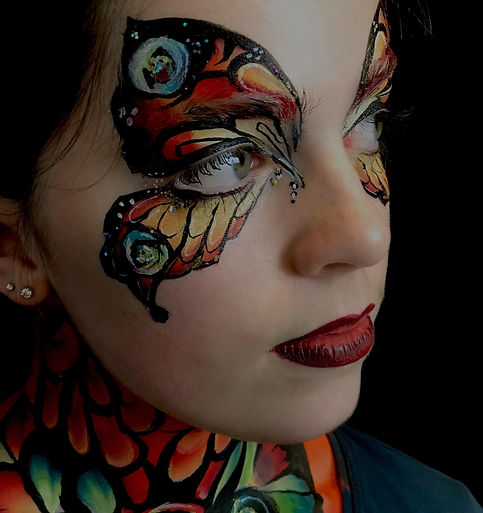 Professional Face & Body Painting in London.