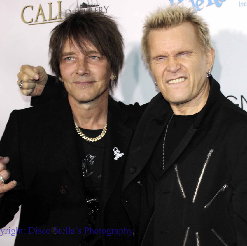 Billy Morrison and Billy Idol...1
