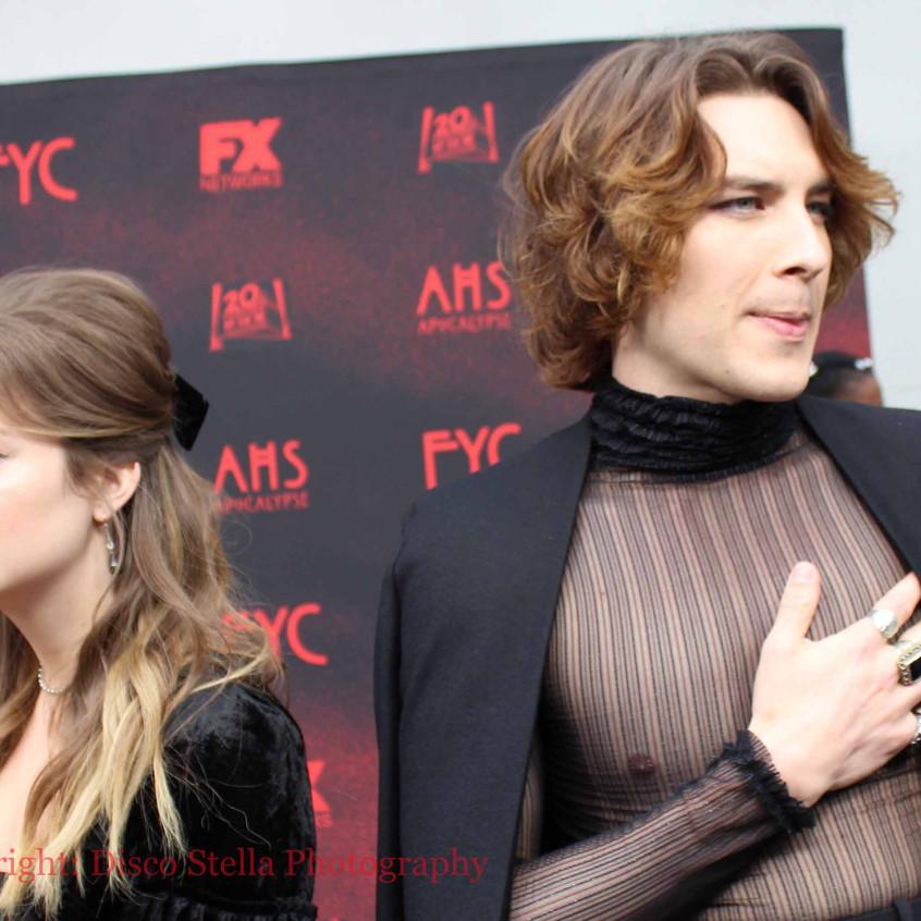 Billie Lourd  and Cody Fern- Cast