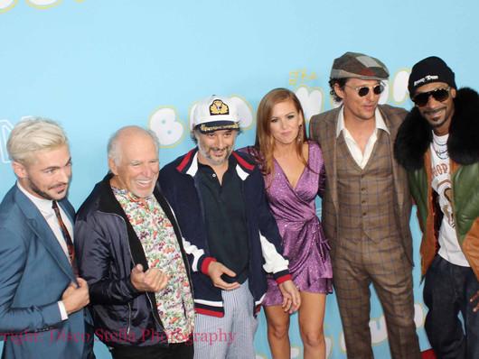 Matthew McConaughey stars in The Beach Bum celebrating the Los Angeles movie premiere.