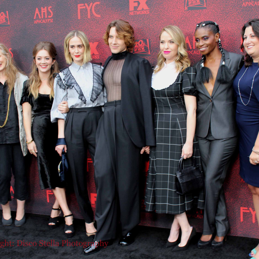 The Cast - AHS Apocalypse..with guest