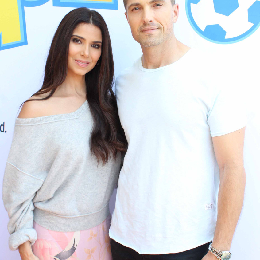 Roselyn Sanchez and Eric Winter - Actres