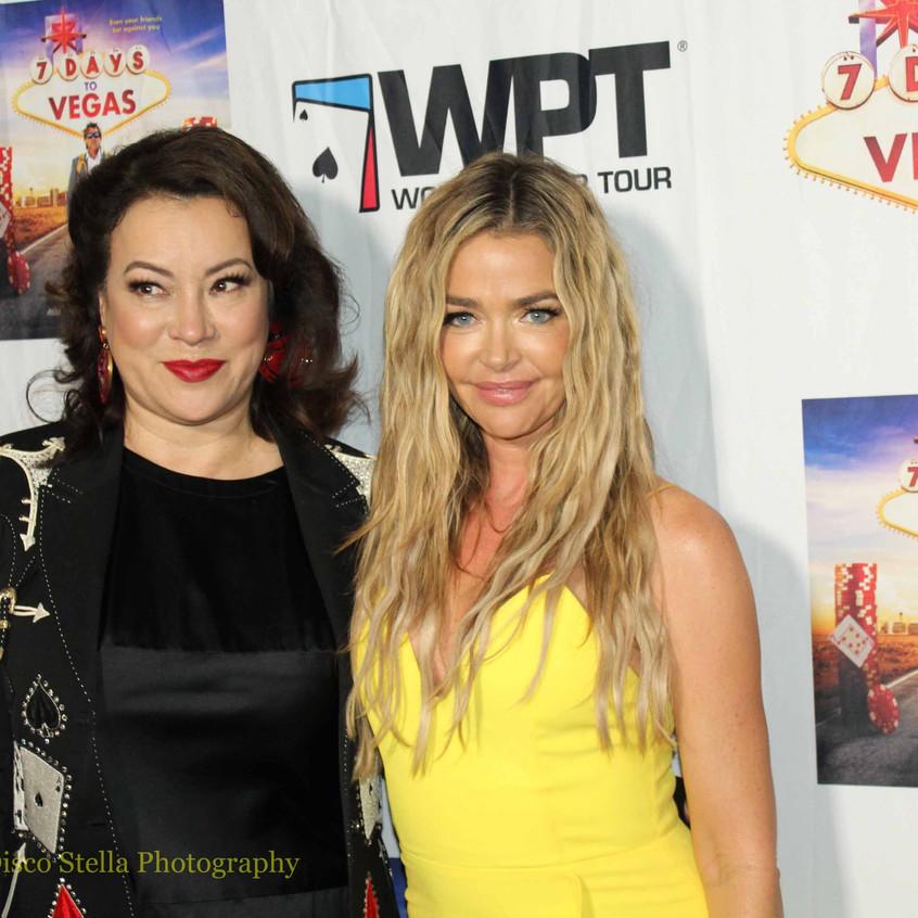 Jennifer Tilly and Denise Richards