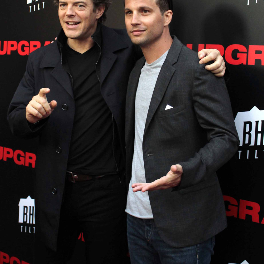 Jason Blum - Producer and Logan Marshall-Green-Actor UPGRADE