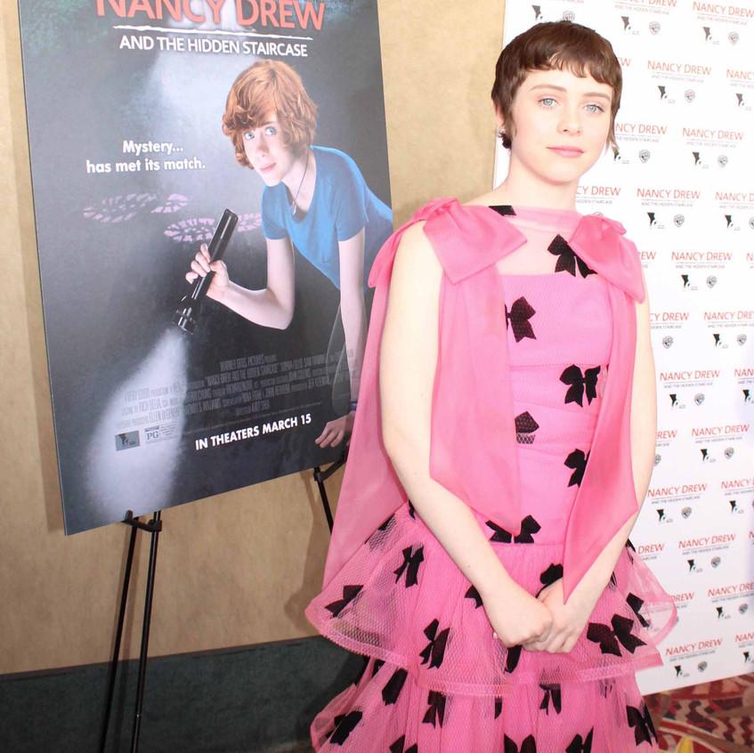 Sophia Lillis- Cast - Nancy Drew..
