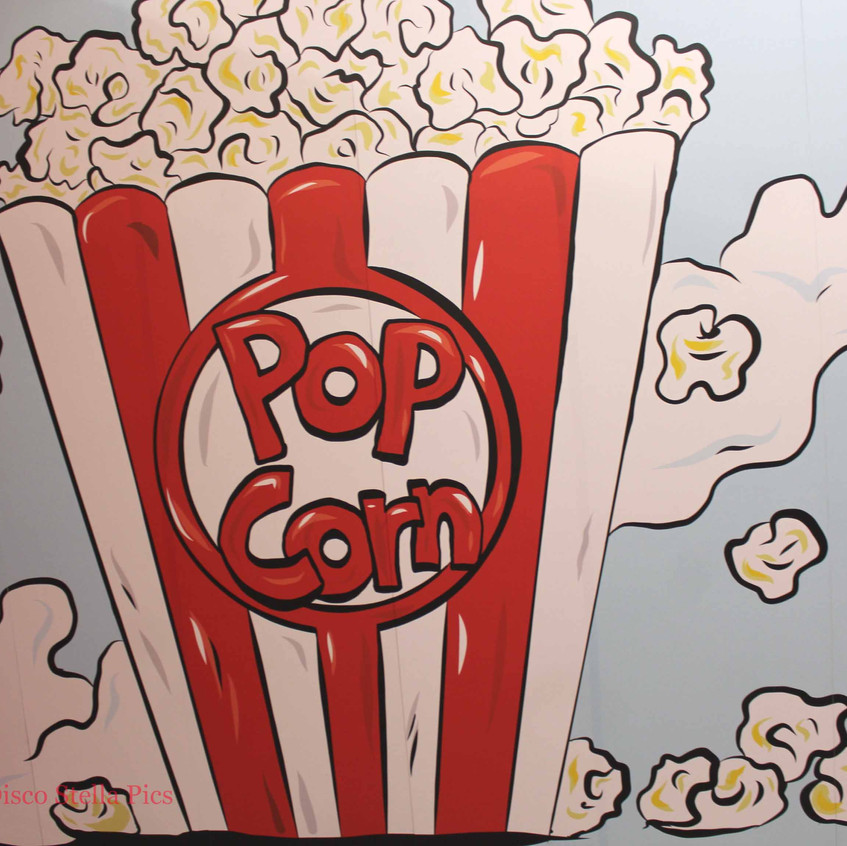 Pop Corn Art