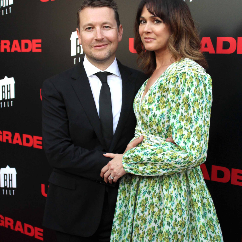 Leigh Whannell and Wife Corbett Tuck 1