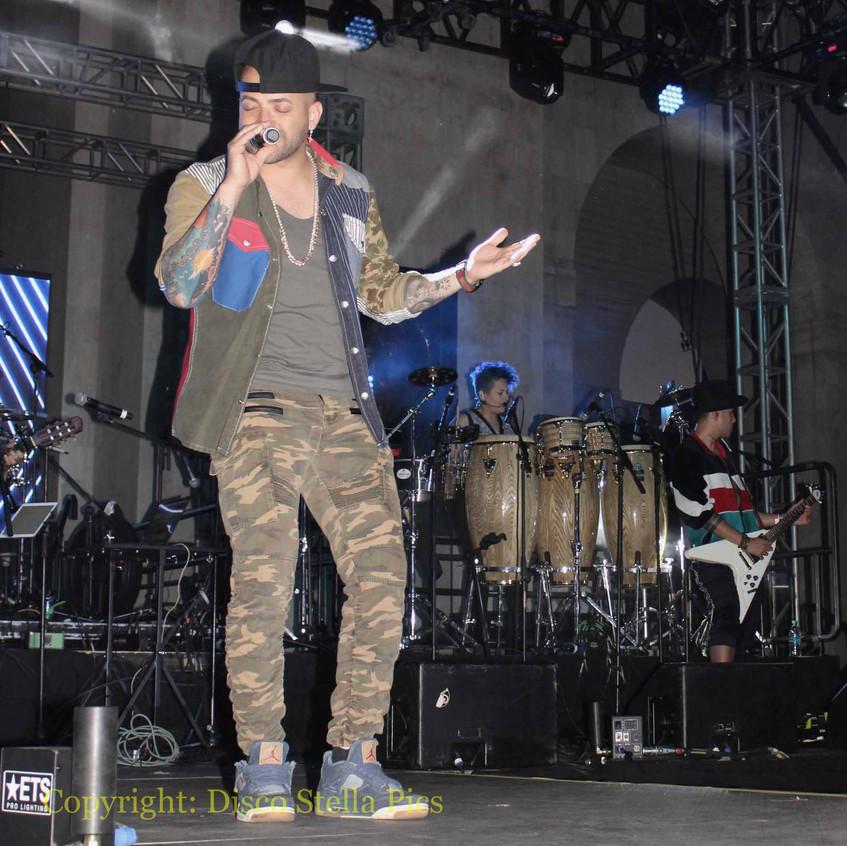 Nacho - First Artist singing
