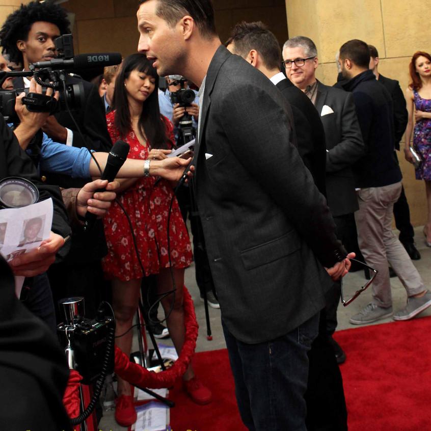 Logan Marshall-Green - Actor-being interviewed
