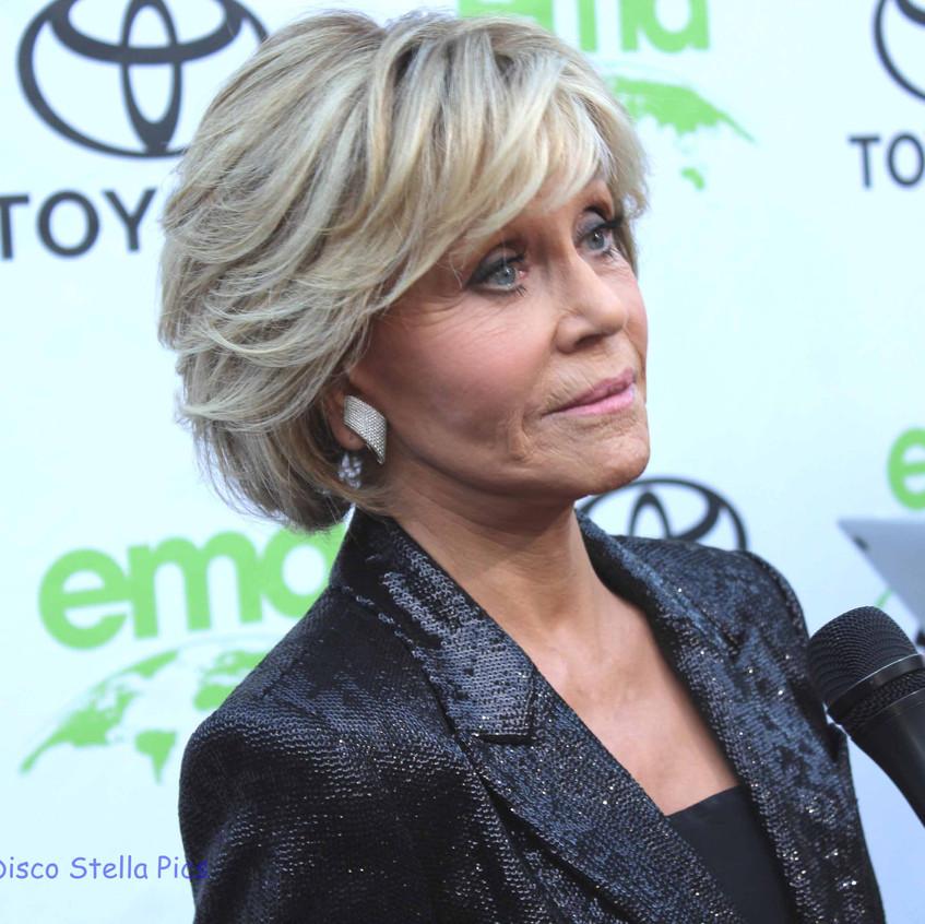 Jane Fonda -Interviewed