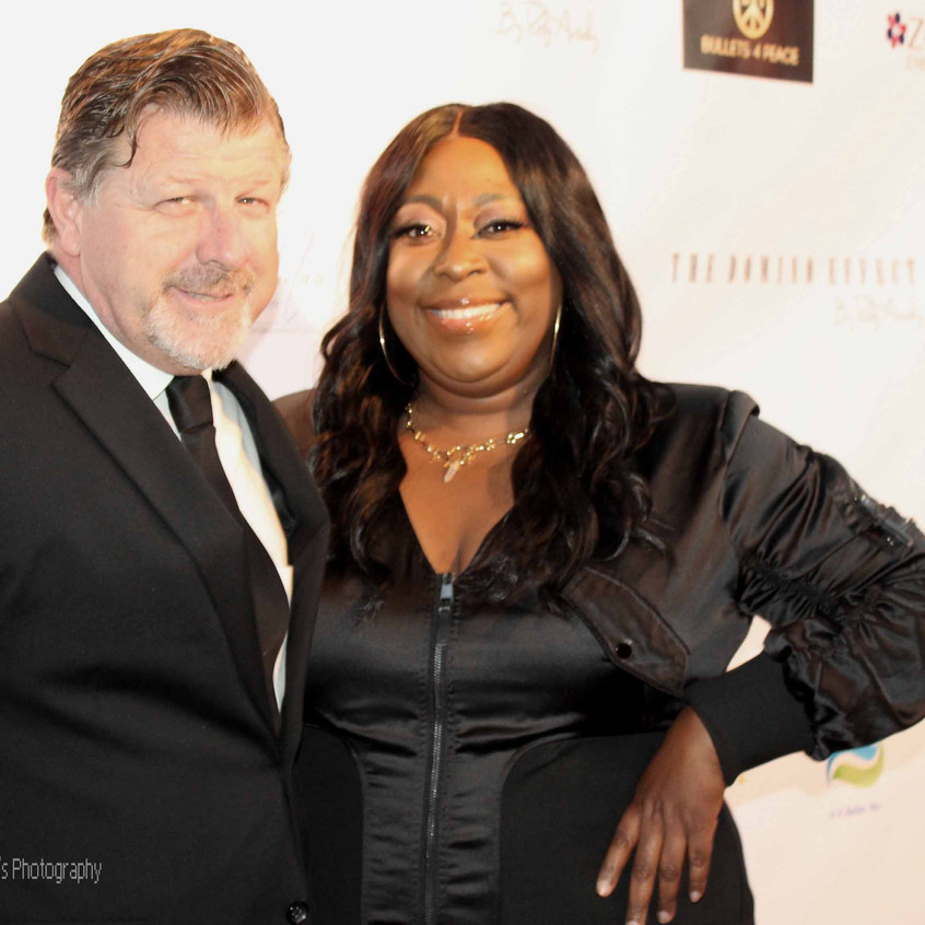 James Welsh and Loni Love- Comedian