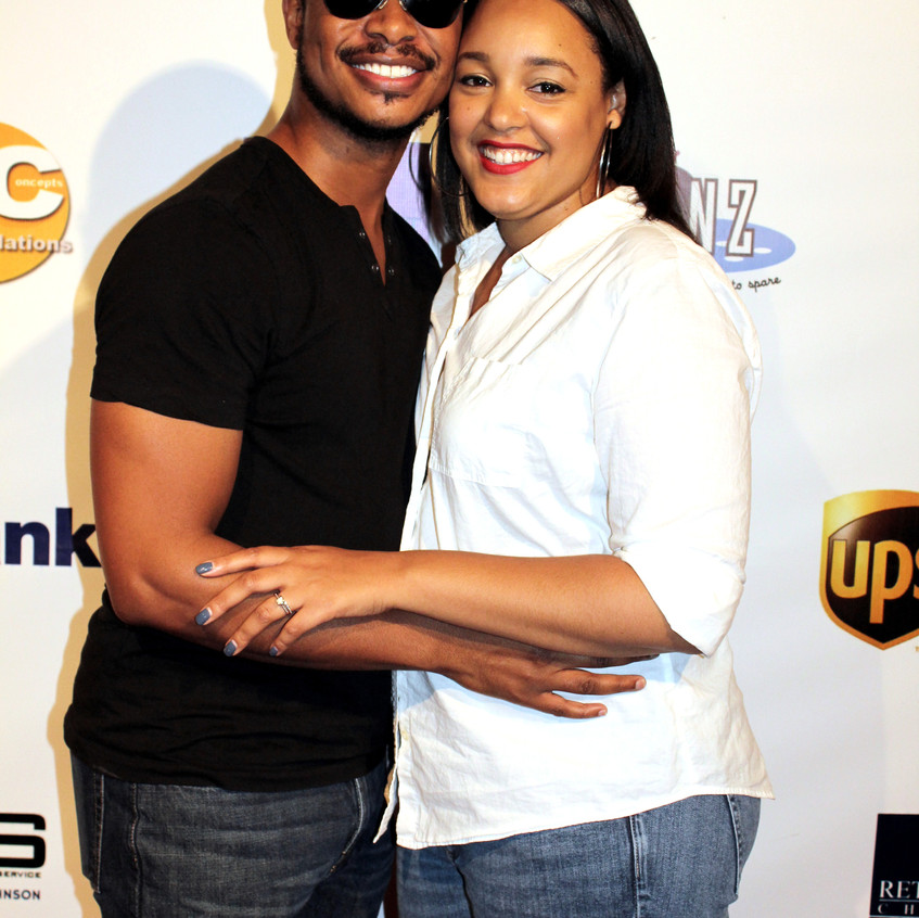 Arjay Smith (Actor) and wife