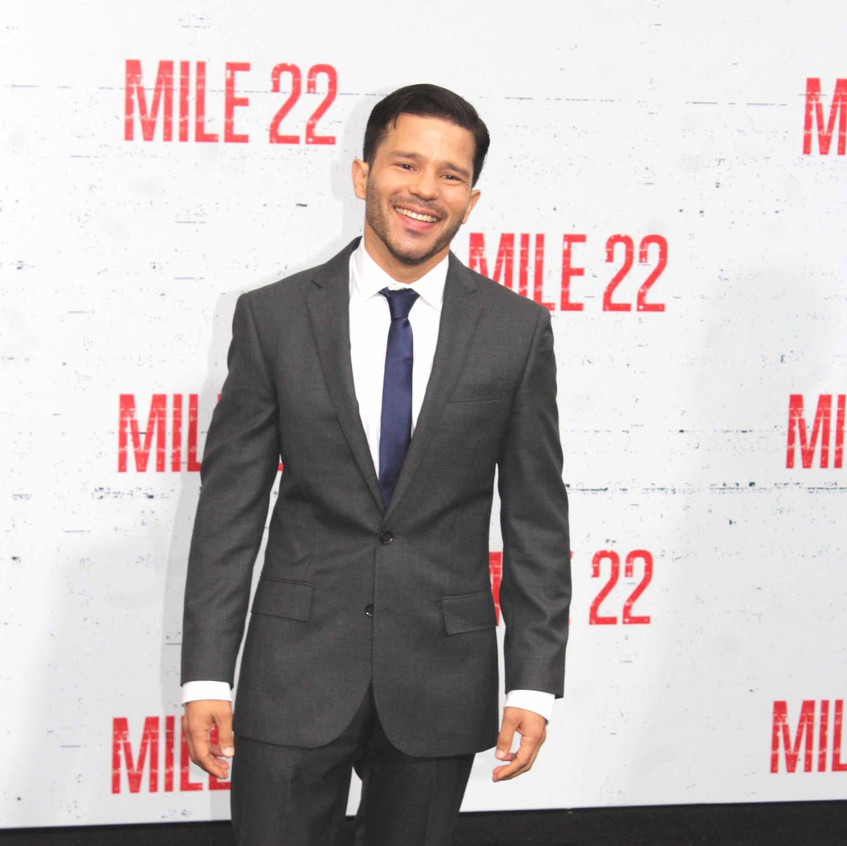 Carlo Alban- Actor - Cast of Mile 22