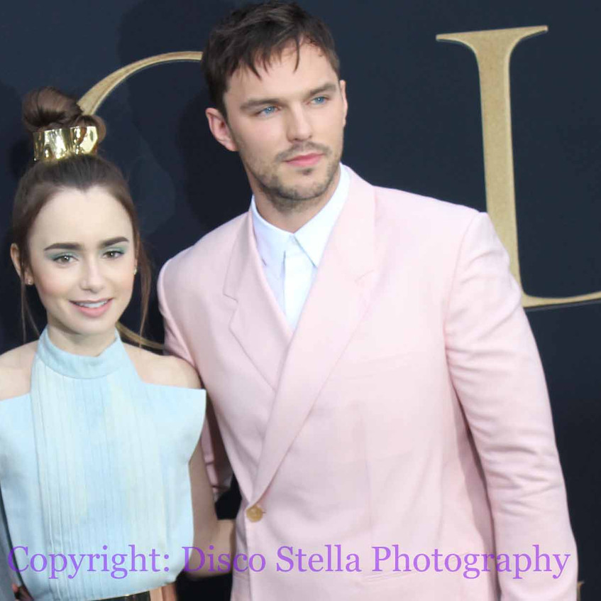 Nicholas Hoult and Lily Collins - Cast..