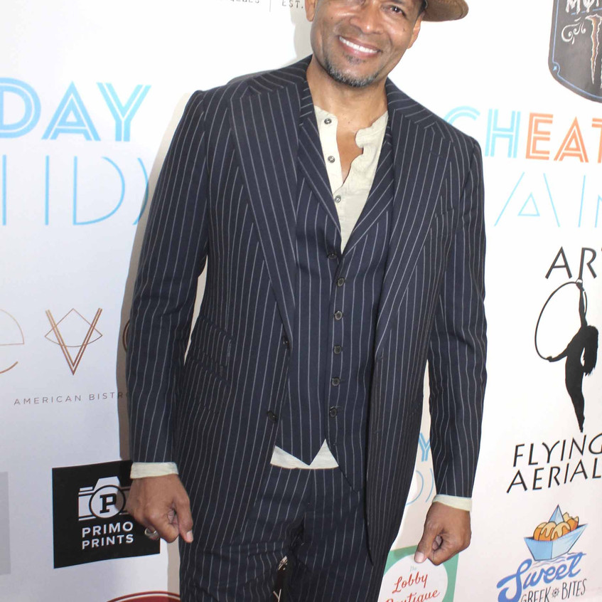 Mario Van Peebles - Actor on the carpet.