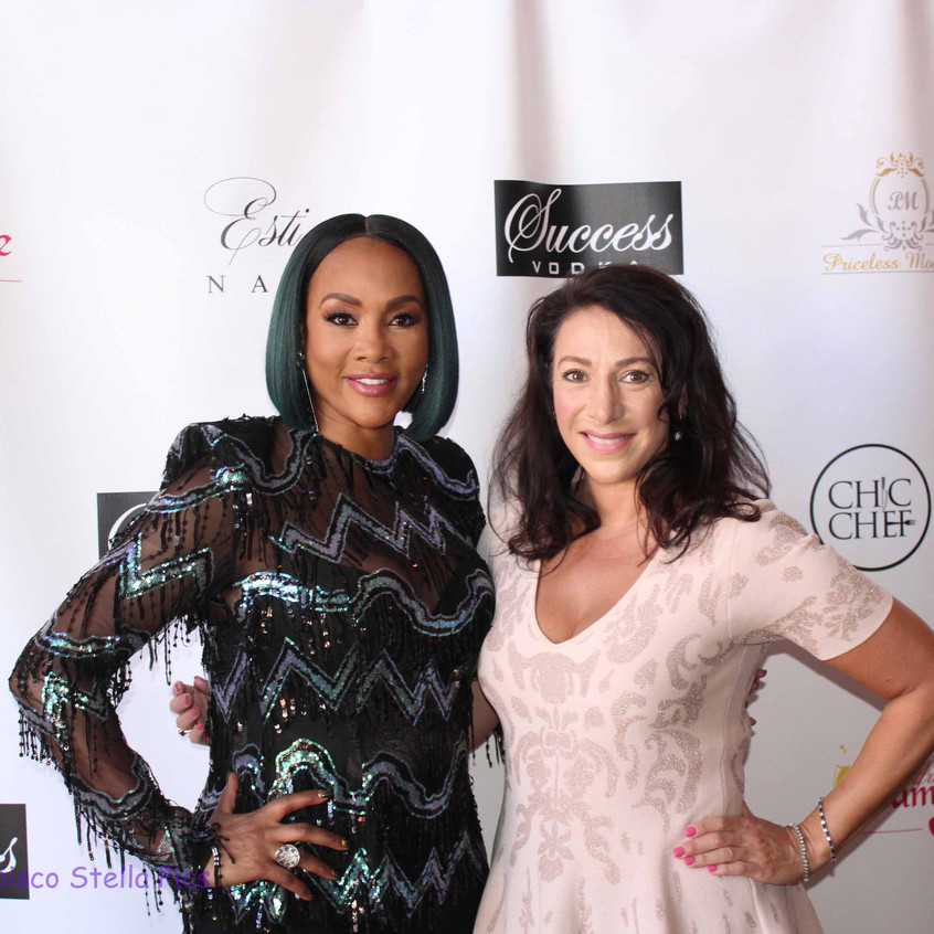 Vivica Fox with guest attending