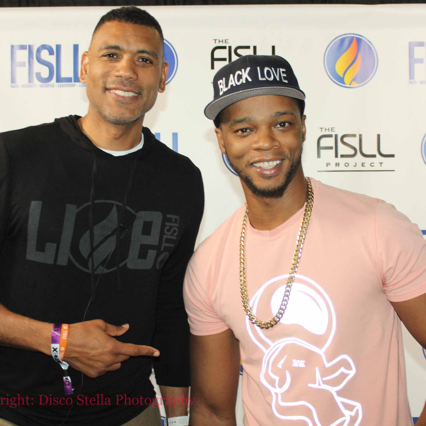 Allan Houston with guest Rapper.........