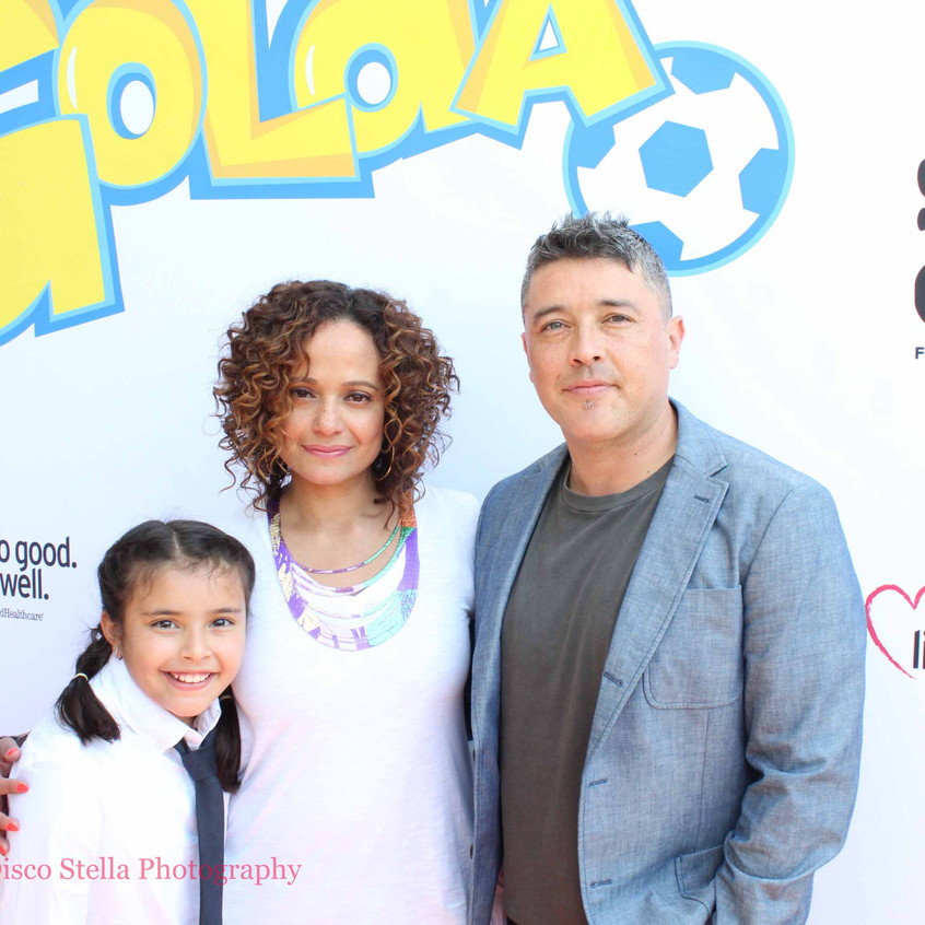 Judy Reyes- George Valencia and Guest