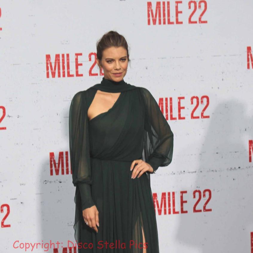 Lauren Cohan- Actress - Cast of Mile 22.
