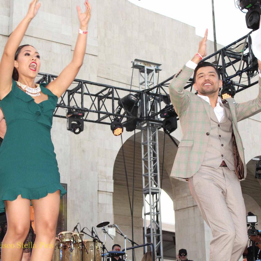 Nitzia Chama -  Bebe Coronel dancing 1