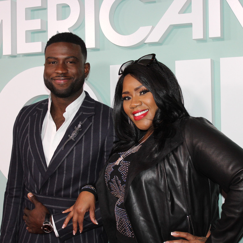 Sinqua Walls and Kelly Price - Cast on A