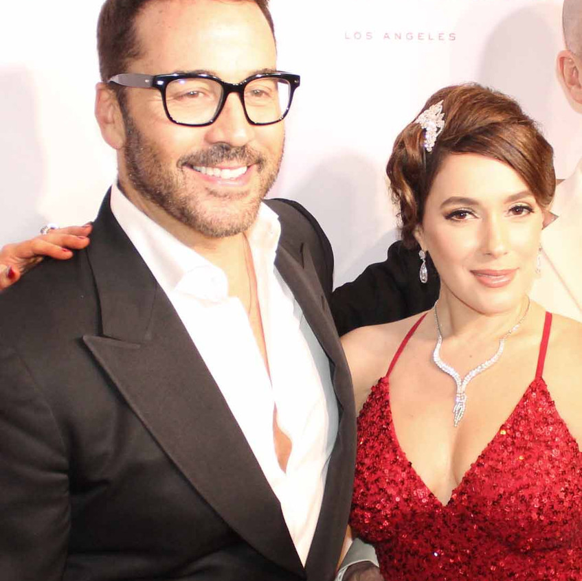 Jeremy Piven - Actor with Christina De R
