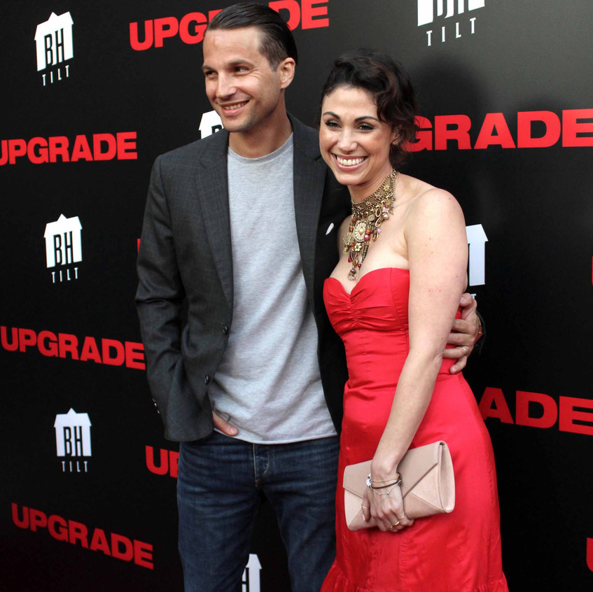 Logan Marshall-Green - Actor with Wife 1